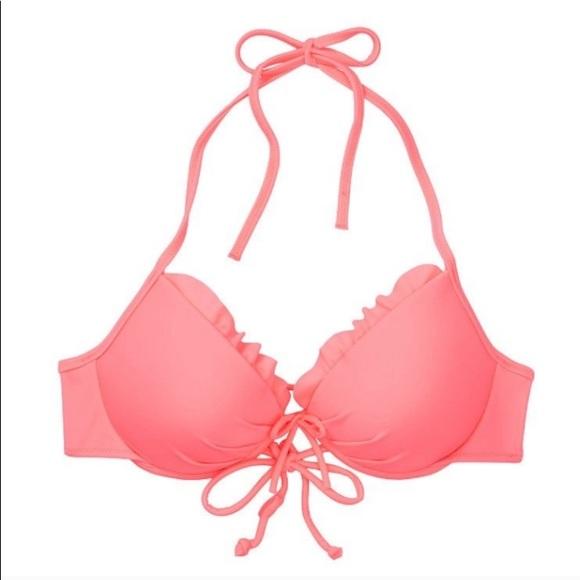 SOLD 🎉 VS Malibu Fabulous Bikini Top 36C